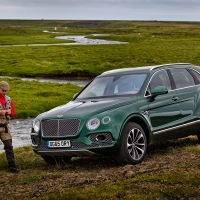 Bentley Bentayga версия Fly Fishing