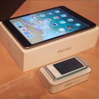 Обменяю iPad mini 2 retina 32gb и iPod 7